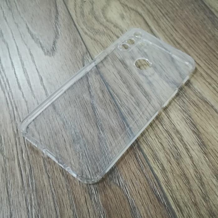 Силиконовый чехол KST для Realme C3 с защитой от пыли и ударов. Прозрачный