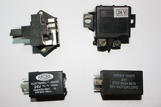 Реле поворотів, стартера, регулятора генератора, втягуюче 12V, 24V на LPT613, Еталон, I-VAN