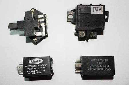 Реле поворотов, стартера, регулятора генератора, втягивающее 12V, 24V на  LPT613, Эталон, I-VAN
