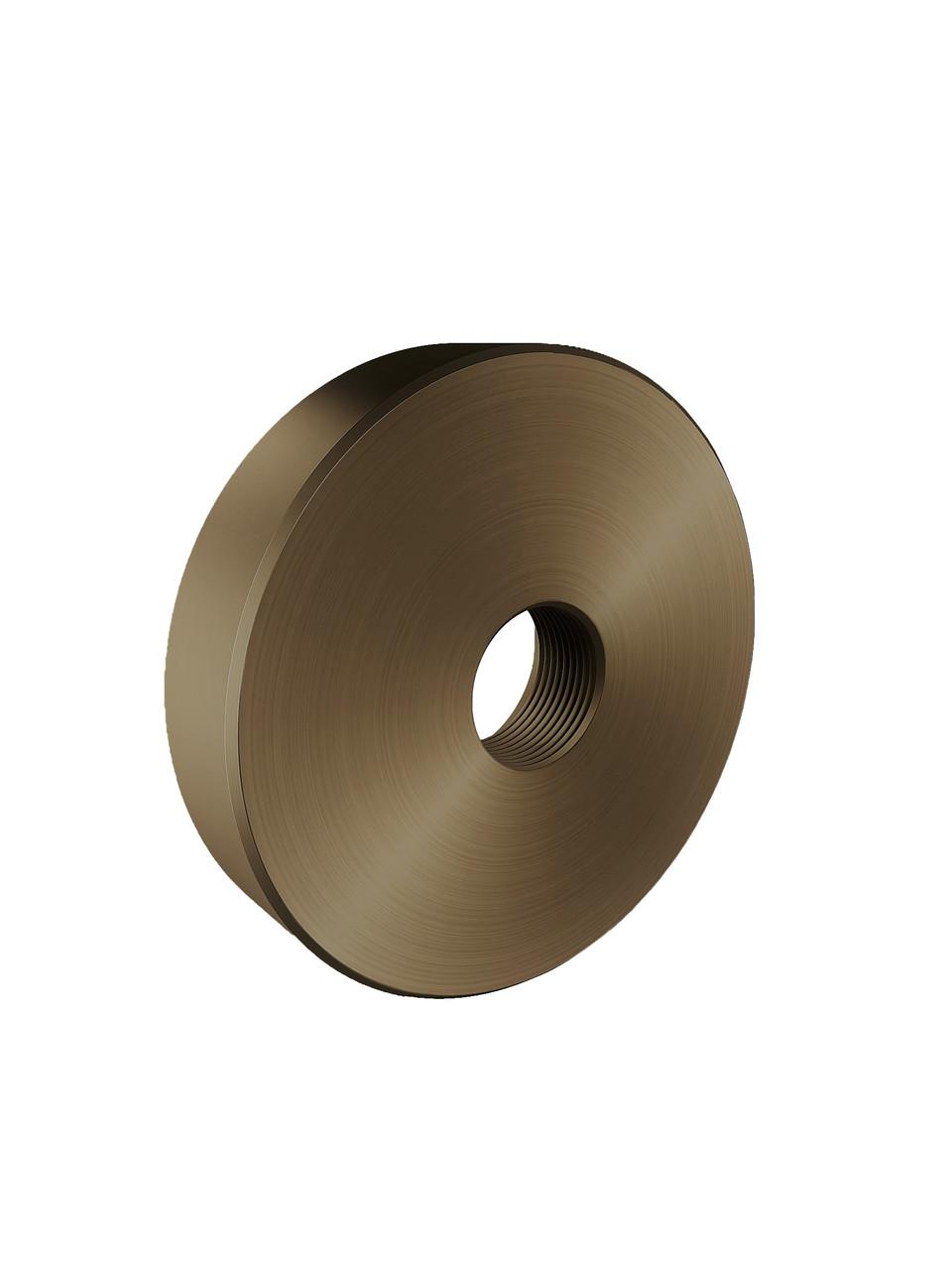 ODF-06-26-30-L10 Дистанция 10 мм для коннектора диаметром 40 мм и с резьбой М10, цвет матовая бронза