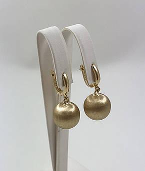 Золотые серьги Т-04