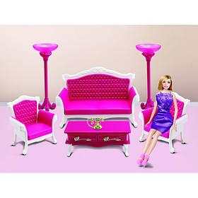 Набір меблів для ляльок 3017 Вітальня