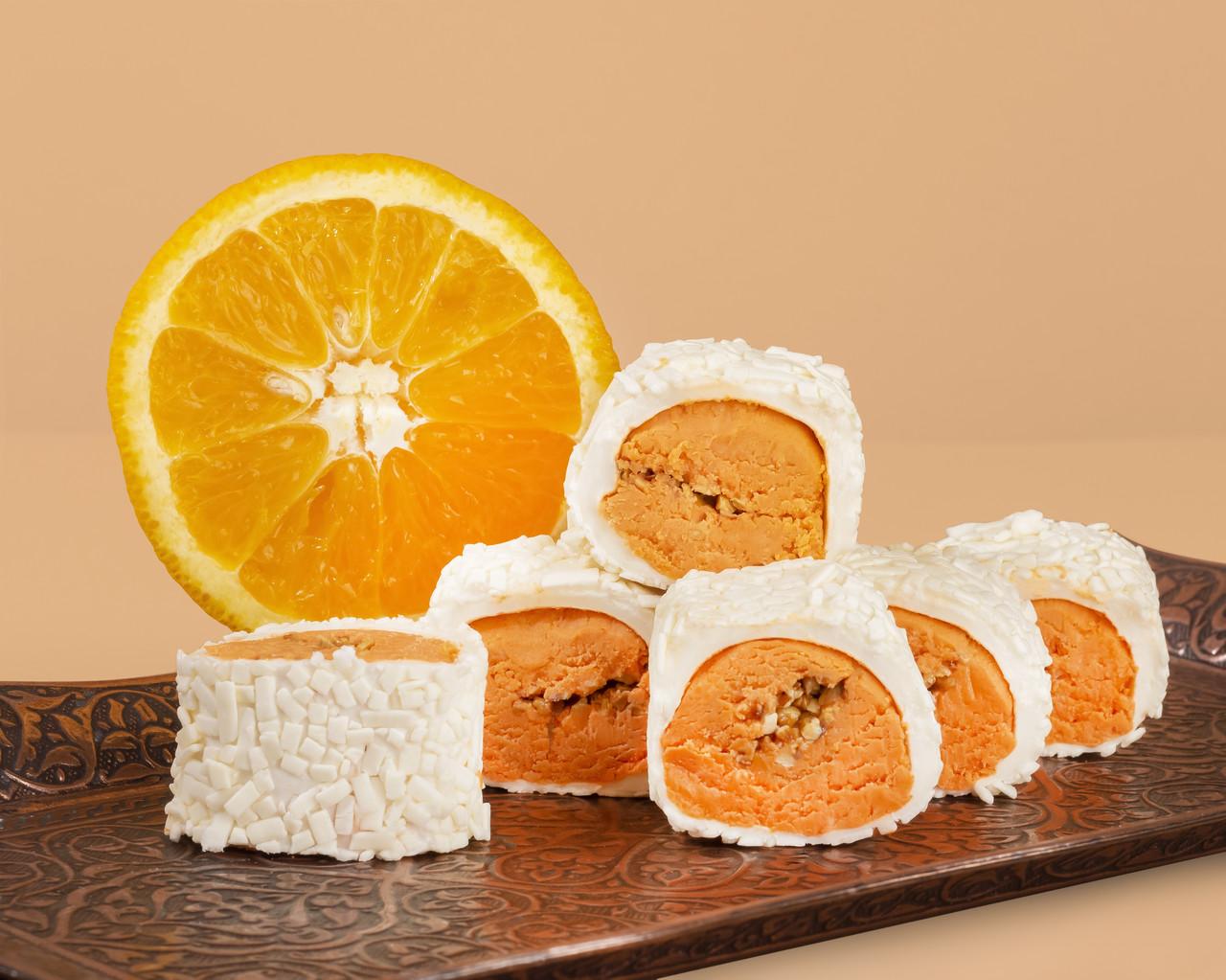 "Турецький Рахат Лукум ""Апельсин з смаженим мигдалем """
