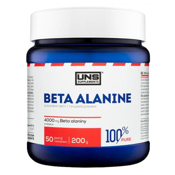 Бета аланин UNS 100% Pure BETA-ALANINE 200 г