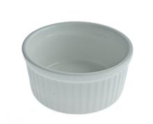 Емкость для десерта FoREST Cafe time 150мл 8,5х4 см фарфор, Круглая фарфоровая белая емкость для десертов