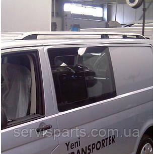 Рейлінги на дах для Volkswagen Transporter T5 алюмінієві Crown (Транспортер), фото 2