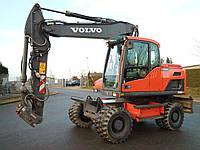 Колесный экскаватор VOLVO EW 160D 2012 года