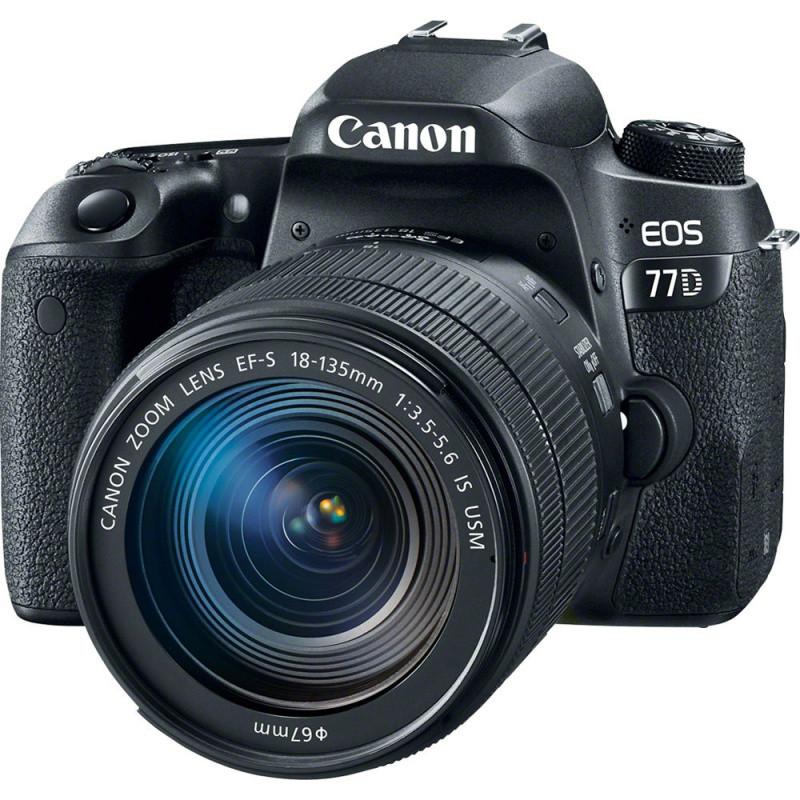Фотоапарат Canon EOS 77D kit EF-S 18-135mm IS USM / на складі