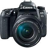 Фотоапарат Canon EOS 77D kit EF-S 18-135mm IS USM / на складі, фото 4