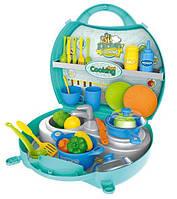 Дитяча ігрова кухня у валізі 8738А