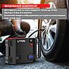 Пуско-зарядний пристрій+автокомпресор з автостопом UTRAI Jstar 5, 2000 А, 24000 мАг, 12 В, гарантія 1 рік, фото 4