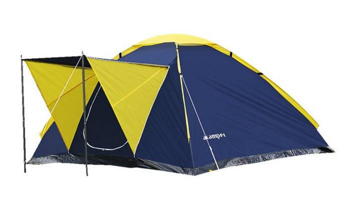 Намет 4-х місцева Presto Acamper MONODOME 4 PRO синій - 3000мм. Н2О - 2,8 кг., фото 2