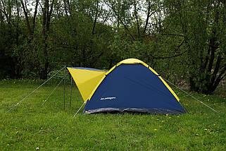 Намет 4-х місцева Presto Acamper MONODOME 4 PRO синій - 3000мм. Н2О - 2,8 кг., фото 3
