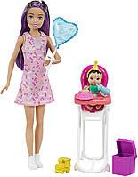 """Набор Барби Скиппер няня """"Праздник День рожденье"""" (GRP40) от Mattel, фото 1"""