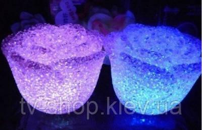 Светильник LED Кристальная роза