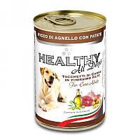 Консерва Trainer Healthy Alldays Dog паштет с кусочками 400г