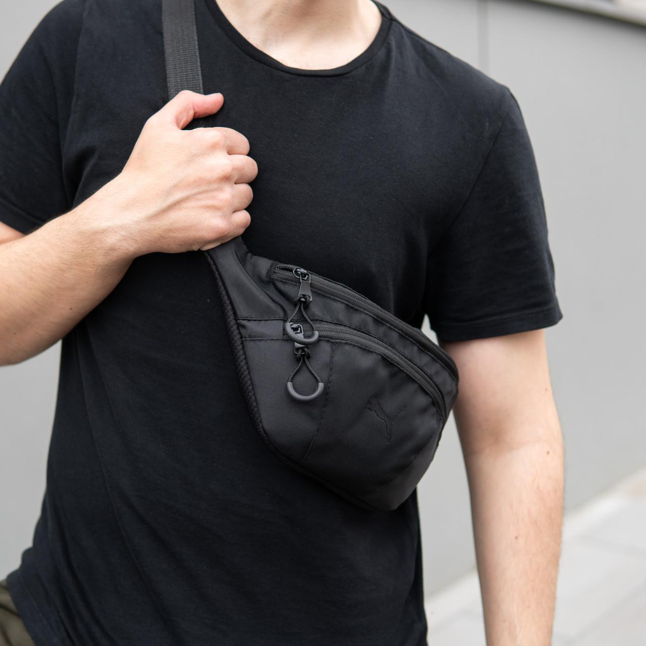 Поясная сумка большая Puma Intertool черная