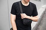 Поясная сумка большая Puma Intertool черная, фото 2