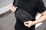 Поясная сумка большая Puma Intertool черная, фото 7