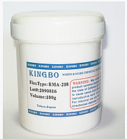 RMA218 RMA-218 KINGBO припой флюс гель паста 100г