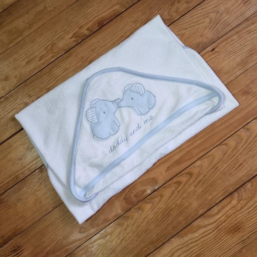 Махровий рушник-куточок для малюка