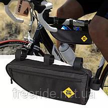 Велосумка під раму трикутна В-soul (велика), фото 3