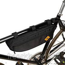 Велосумка під раму трикутна В-soul (велика), фото 2