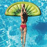 Пляжный надувной матрас intex ДОЛЬКА КИВИ 178x85 см для бассейна и плавания 58764, фото 3