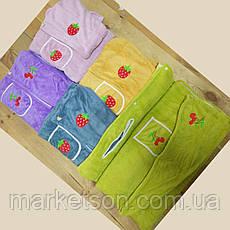 Полотенце халат для сауны+чалма, фото 2