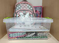Контейнер пластиковый пищевой Lux №7 (9.5 л) для школы