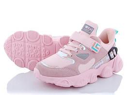 Детские кроссовки для девочки Pikos 37 Розовый 522357, КОД: 1914837