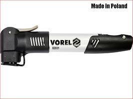 Велосипедный насос в алюминиевом корпусе Vorel 82031