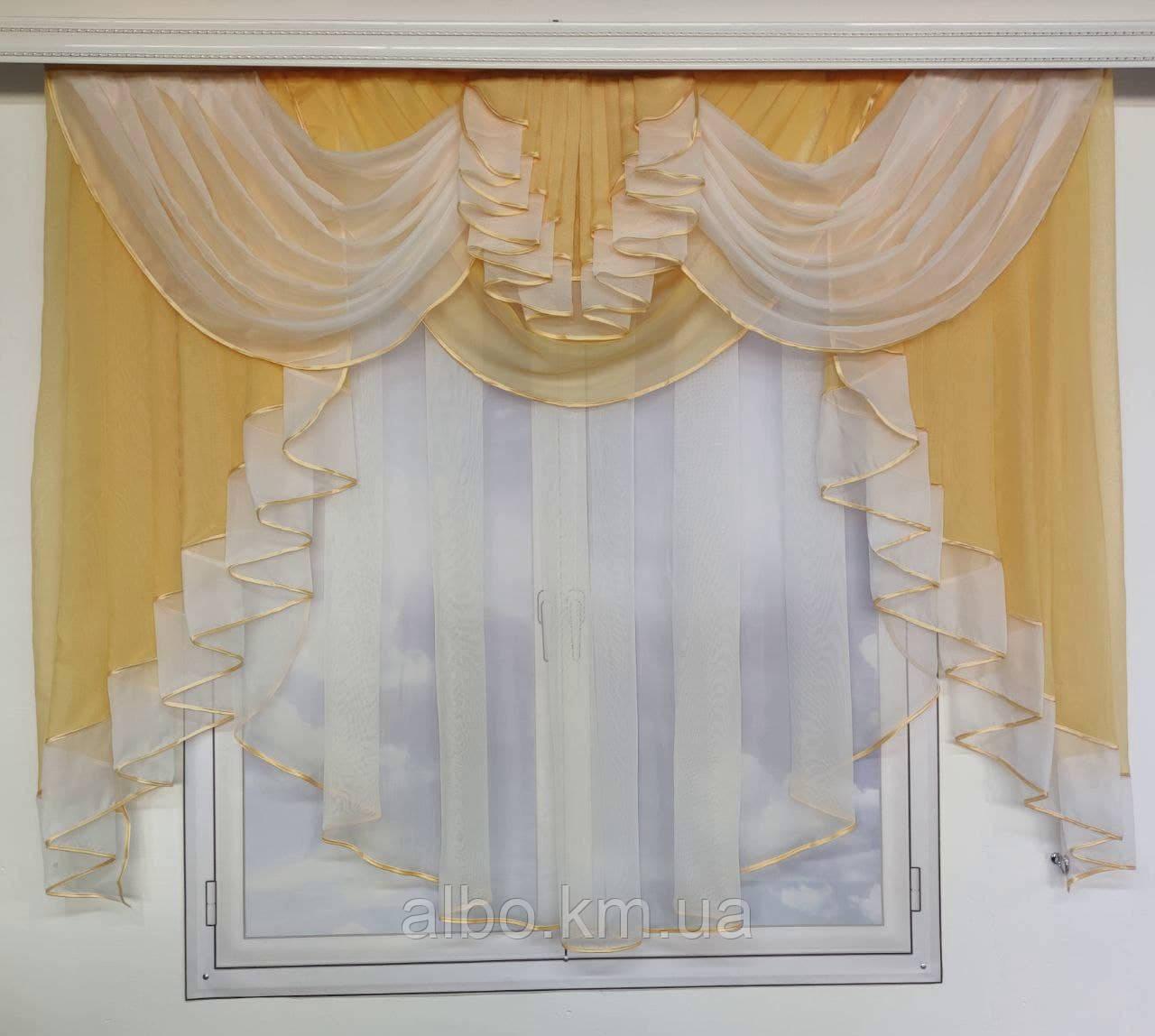 Готовый тюль из шифона для комнаты спальни кухни, шифоновый тюль для дома зала гостинной, тюль на окна в