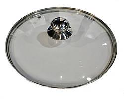 Стеклянная крышка с ручкой Benson BN-1001 (16см)
