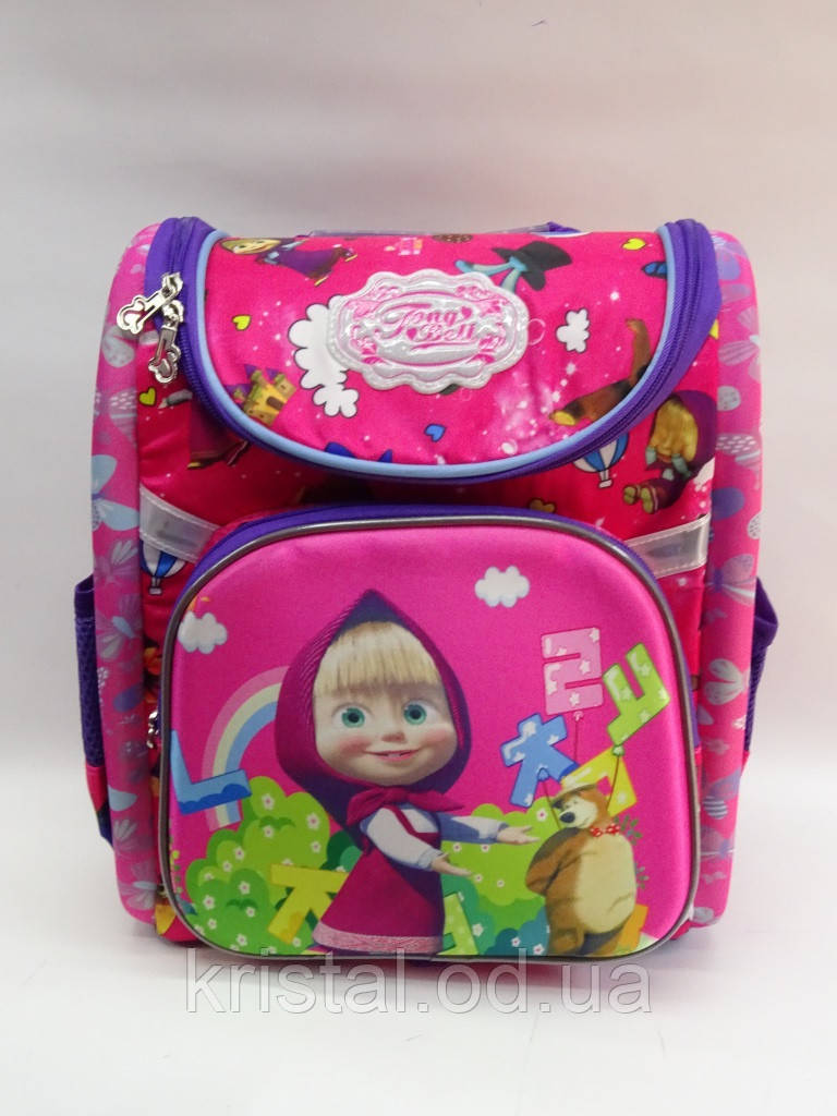 Рюкзак шкільний каркасний для дівчинки 28*32 див. №6637