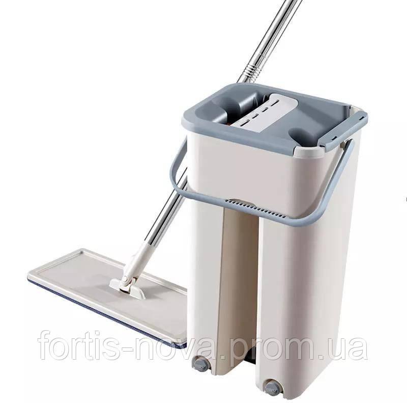 Швабра лентяйка с ведром Scratch Cleaning mop