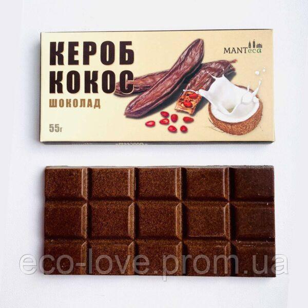 Шоколад из кероба с кокосом ТМ Manteca 55г