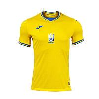 Игровая футболка сборной Украины Joma Евро-2020 желтая AT102404A907