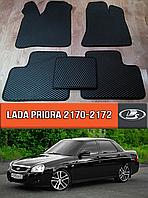 ЕВА коврики Лада Приора 2007-н.в. EVA ковры на Lada Priora ВАЗ 2170 2171 2172