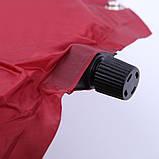 Самонадувающийся коврик KingCamp Base Camp Comfort(KM3560)wine red, фото 6