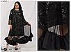 Ошатне жіноча літнє трикотажне плаття великого розміру; розміри: 64\66\68, фото 2
