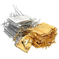 Мешочки золото/серебро