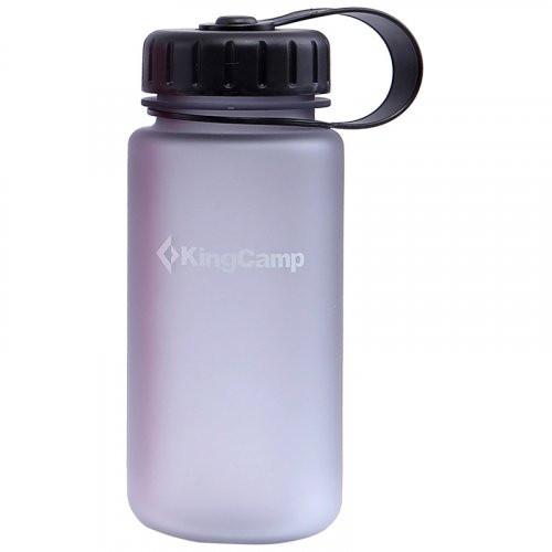 Пляшка для води KingCamp Tritan Bottle 400ML(MEDIUM GRAY)