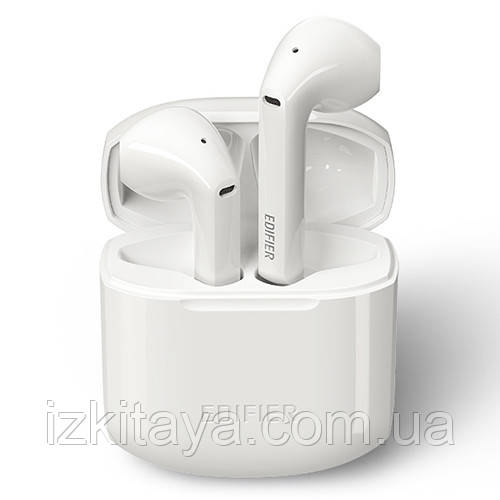 Бездротові навушники Edifier TWS200 white Bluetooth навушники з блютузом