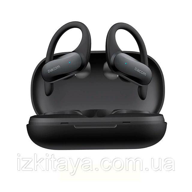 Бездротові навушники DACOM ATHLETE TWS black Bluetooth навушники з блютузом