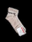Носки мужские вставка сеточка р.27 светло-серый, бежевый хлопок стрейч Украина. От 10 пар по 6,50грн., фото 3