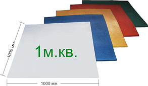Резиновая плитка Eco 100х100х2 см