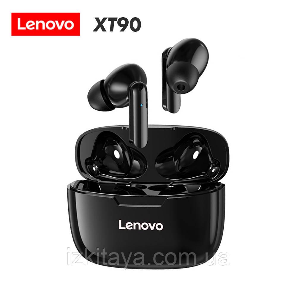 Наушники Bluetooth беспроводные Lenovo XT90 black наушники с блютузом