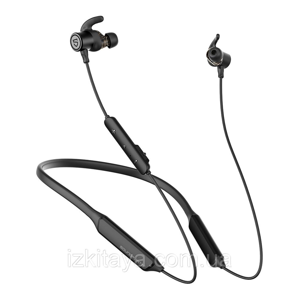 Навушники Bluetooth беспровідні SoundPEATS Force Pro black навушники с блютузом