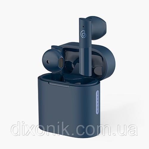 Бездротові навушники Bluetooth Xiaomi Haylou MoriPods blue